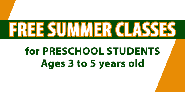 Summer Preschool Program 2015