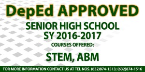 DepEd Approved with courses 2