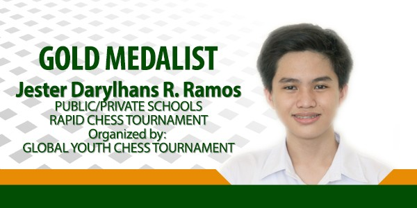 Hans Ramos Receives Gold Medal
