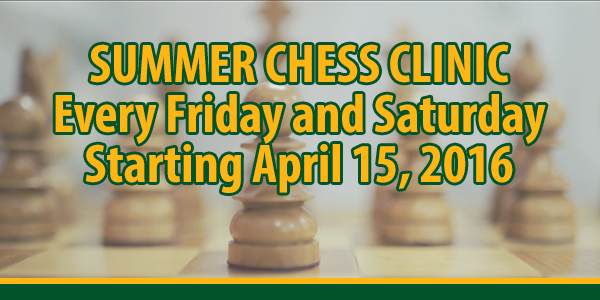 SUMMER CHESS CLINIC