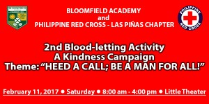 Blood Letting 2017 - Red Cross
