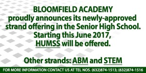 DepEd Approved with courses ABM, STEM, HUMSS 2