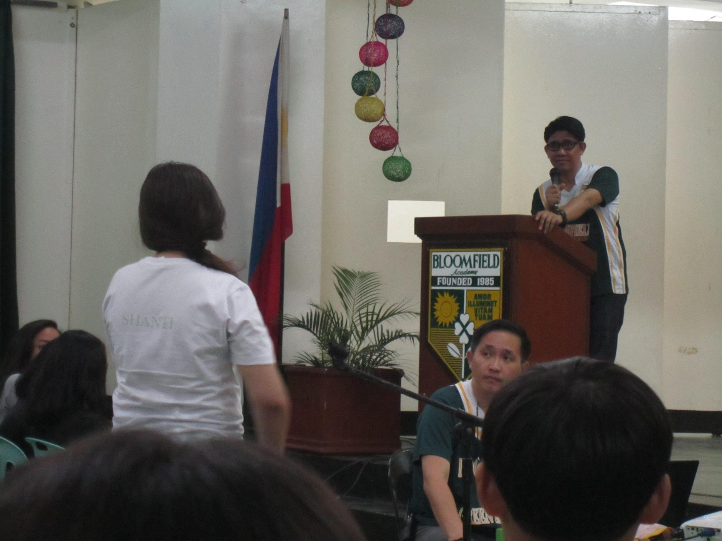 The said orientation was hosted by Sir Sonny, the coordinator of Senior High School Department.
