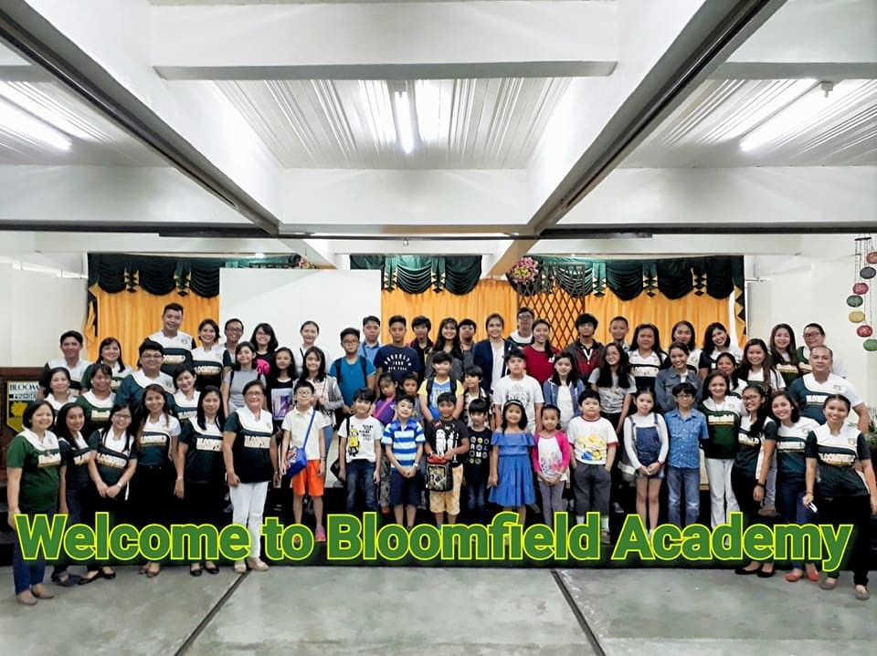 Once again, WELCOME to our new students! Get ready to have a learning experience as you have never encountered before. As what Sir Sonny told at the end of the orientation, write your own, unique story in which you are the character and your setting resides in Bloomfield Academy. Together, let us bloom in a school called home.