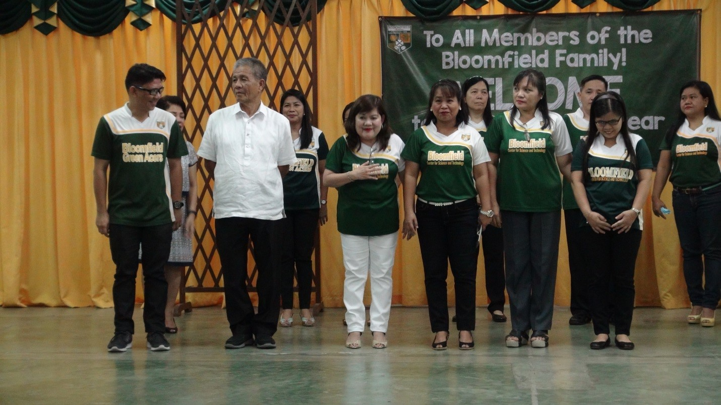 From left to right: Sir Sonny Nabaza (Senior High School Coordinator), Sir Lino Rom (Science Coordinator), Ms. Elsie Torreno (Preschool Consultant & Asst. to the Directress for Special Project),  Ms. Delfa Bade (AP and Filipino Coordinator), Ms. Ma. Teresa M. Bayot (English & MAPEH Coordinator), and Ms. Rozalyn J. Suñer (Math, TLE, and CLE Coordinator)
