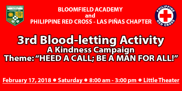 3rd Blood-letting Activity