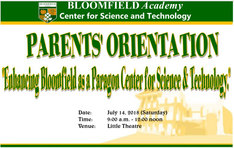 Enhancing Bloomfield as a Paragon Center for Science and Technology