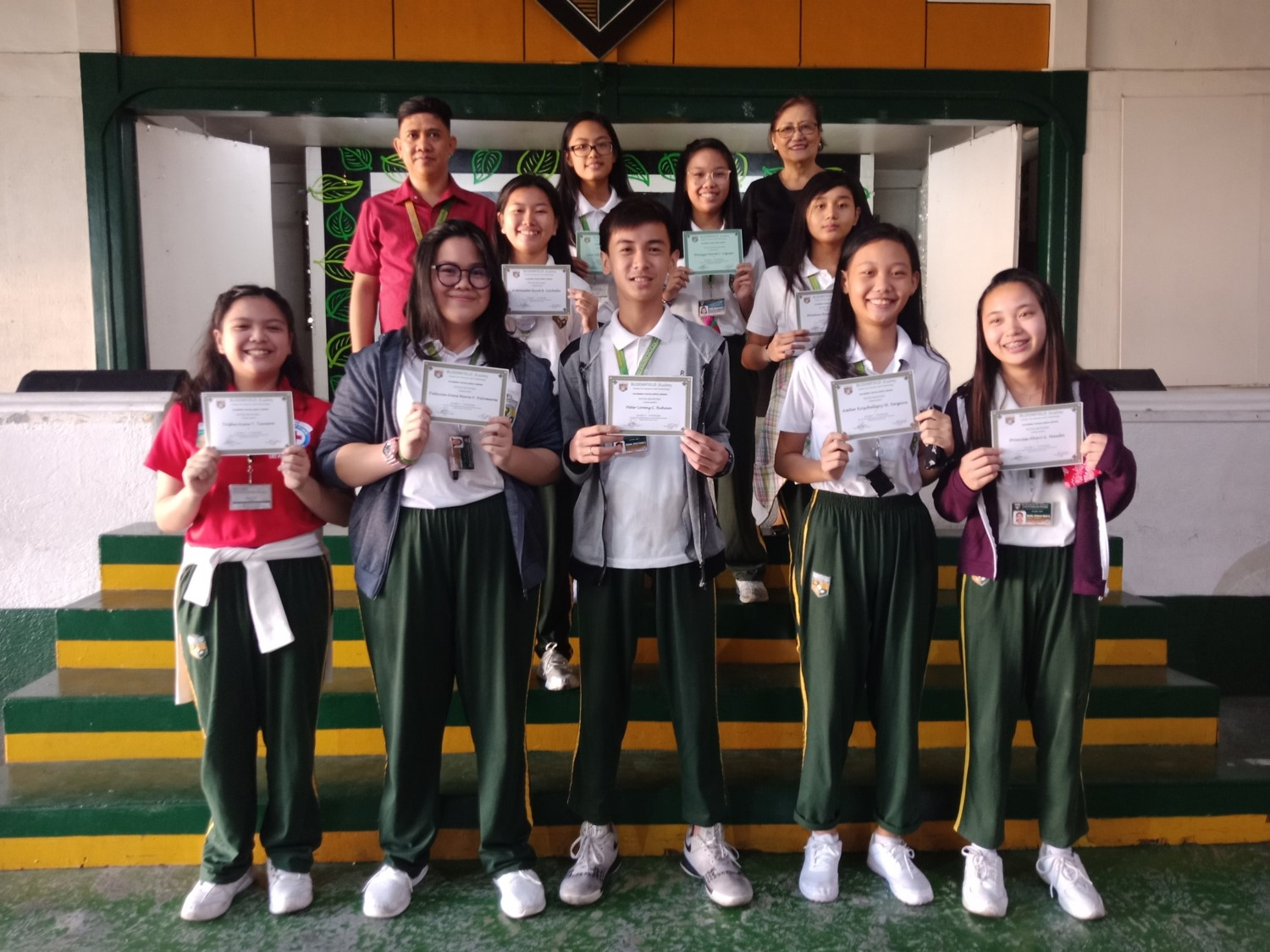 Academic Excellence Awardees for the Third Quarter
