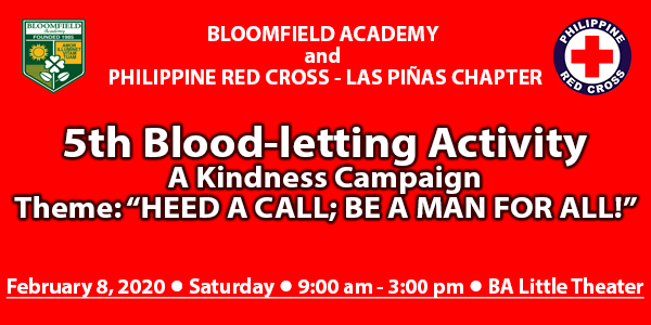 5th Blood-letting Activity